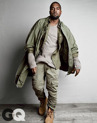 Kanye West GQ