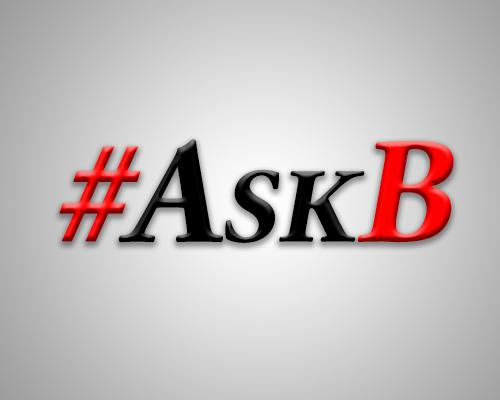 #AskB