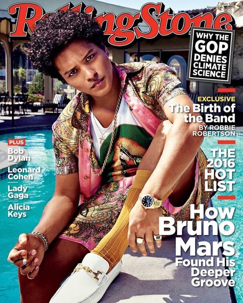 Bruno Mars Rolling Stone