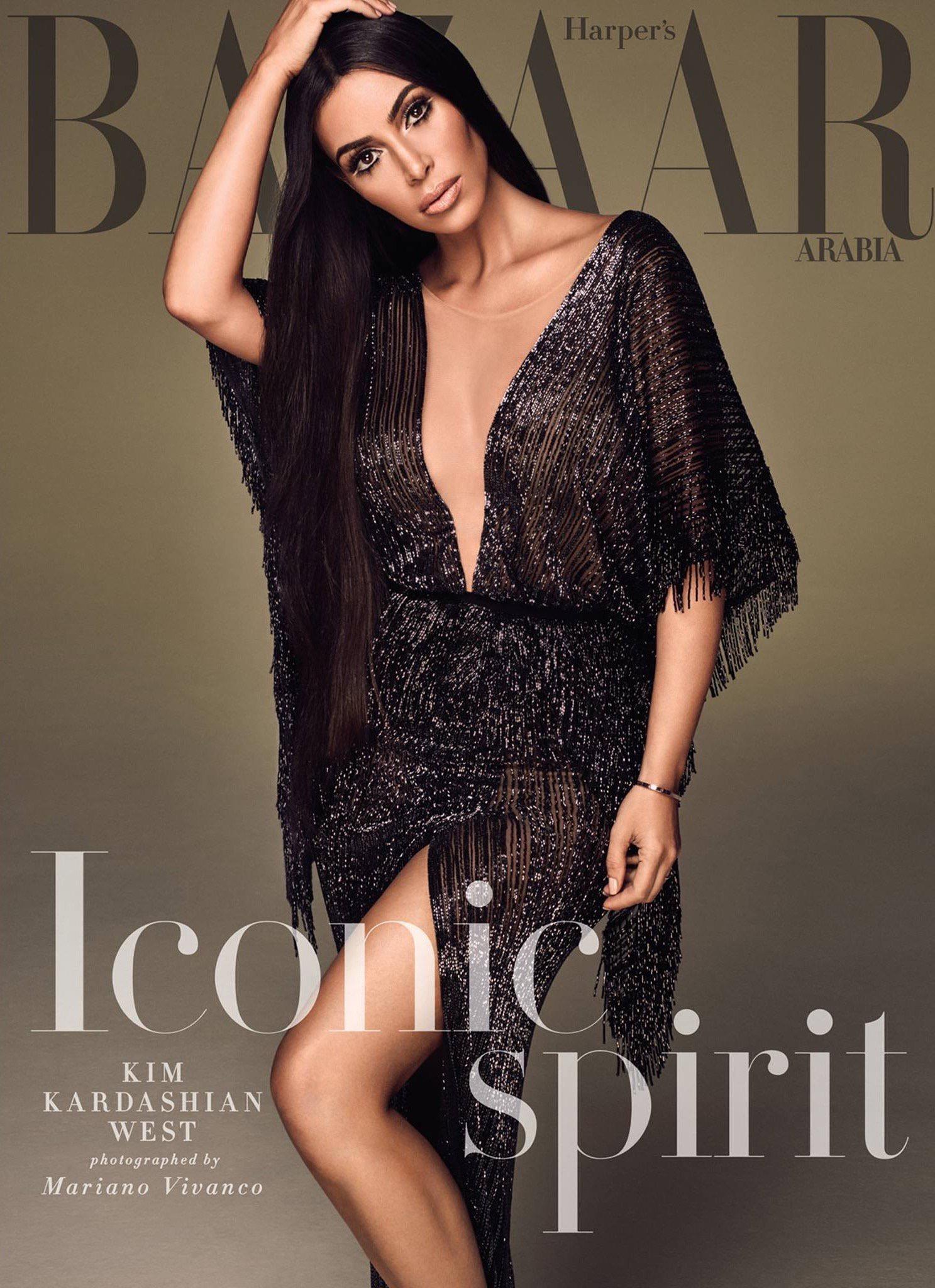 Kim Kardashian, Harper Bazaar