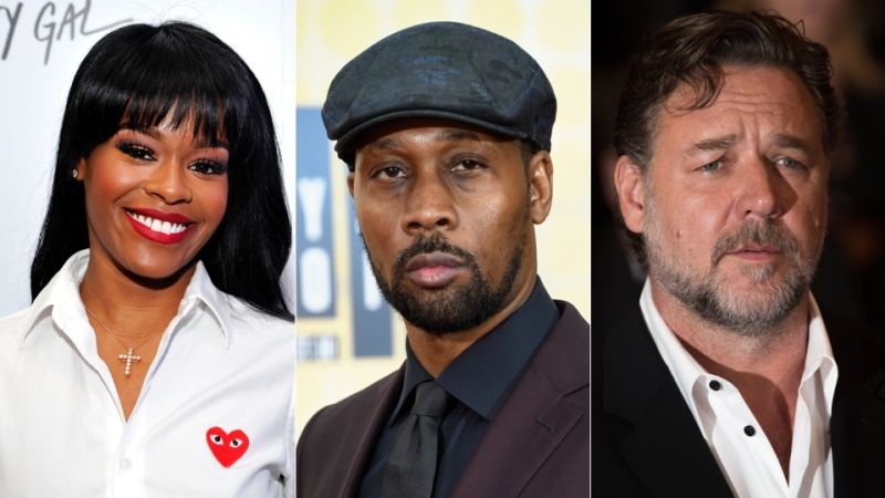 RZA, Russell Crowe, Azealia Banks